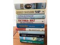 FOR SALE: Variety of books, various authors