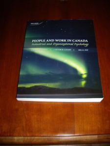 Book Used For I/O Psychology 3327, at SMU