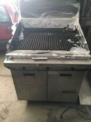 Garland Charbroiler Range Commercial Char Grill Griddle Barbecue Bbq Mint
