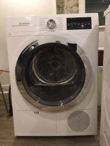 BRAND NEW Stackable Bosch 800 Series washer dryer priced to sell