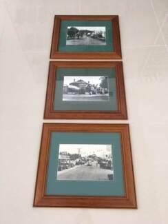 3 timber framed photos