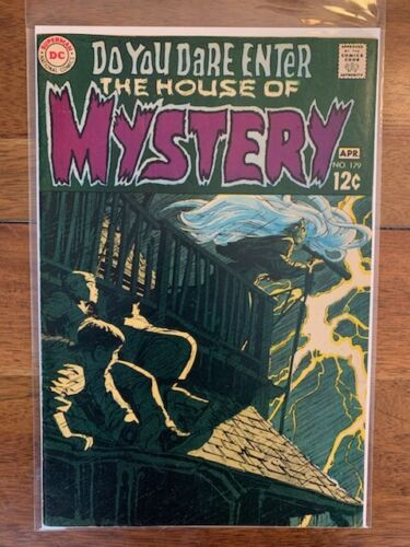 The House Of Mystery 179 High Grade Silver Age Key Comic Book