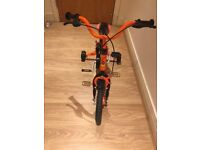 Kids Bike 14 inch with Stablisers - VERY GOOD CONDITION (CYCLE)