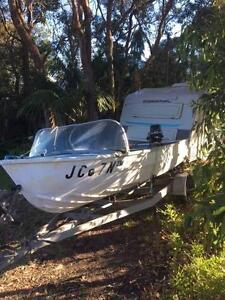 Quintrex runabout 4.5m Central Coast (Wamberal) Wamberal Gosford Area Preview