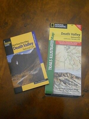 Falcon Guide National Geographic Map  Death Valley National Park  New