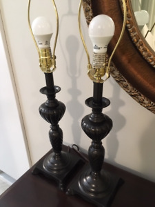 """Pair of 27"""" High Bedroom Good Quality 2 for $30.00"""