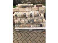 Reclaimed Bricks / One round cornered reclaimed bricks