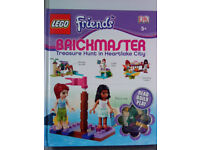 LEGO Friends Brickmaster: Treasure Hunt in Heartlake City by DK Book