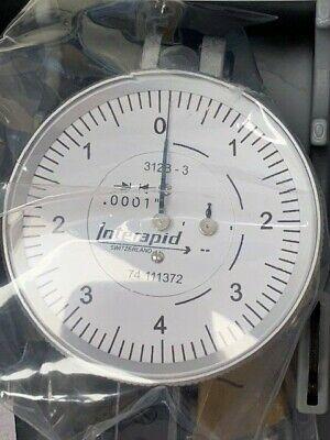 Interapid 1-12 Dial Horizontal Indicator 312-b3 74.111372 - New In Box
