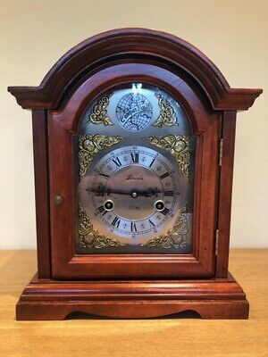 Large Striking Mantle / Bracket Clock In Lovely Condition