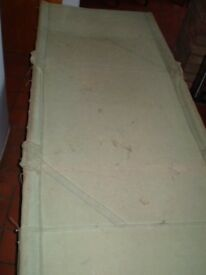 Old Camping bed