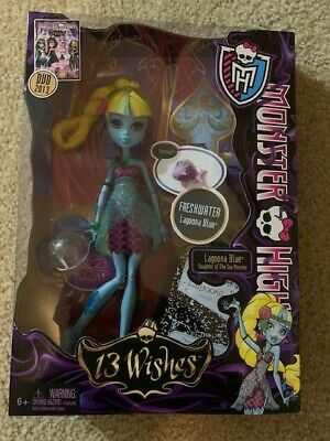 Monster High Lagoona Blue 13 Wishes Unopened