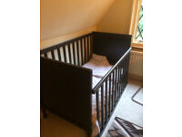 IKEA Sundvik Cot / Bed with Mattress and Duvet