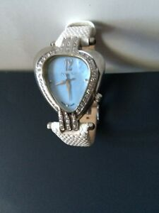 "Aquaswiss "" Heart Collection"" Ladies Watch/Diamond Bezel"