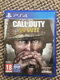 New Call of Duty WW2 - PS4