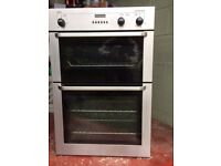 AEG Stainless Steel Built-in Double Oven