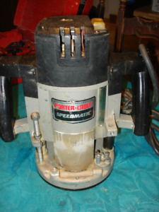 Toupie -Router- Porter cable-3.5HP