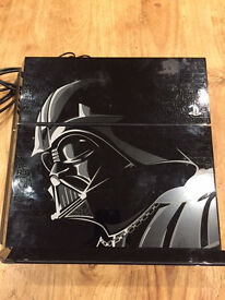 LIMITED EDITION STAR WARS THEMED PS4
