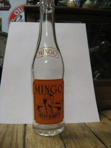 Mingo Beverages ACL Soda Bottle
