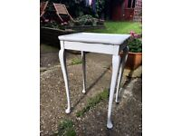 Shabby chic side table, free delivery