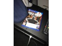 BLACK PS4 WITH GAMES