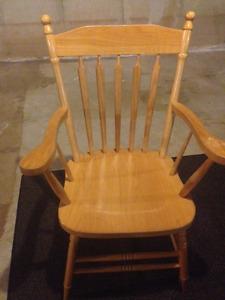 armed mennonite chair