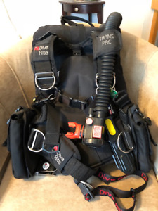Pre-owned Scuba diving gear
