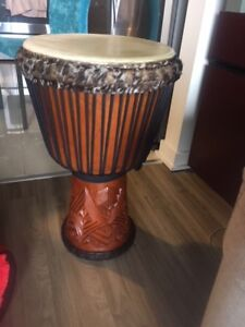 Beautiful DJEMBE/from Nouvelle Guinée(the best)