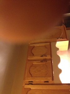 Oak Kitchen and Bathroom Cabinets for Sale