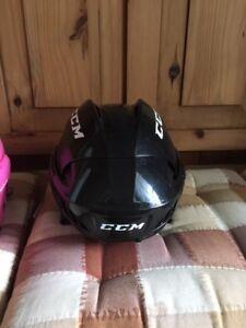 Hockey / Figure skate helmet black toddler Jul-2021 48-53cm XS