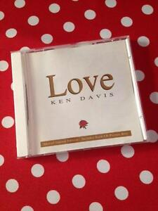 Ken Davis 'Love' Romance Relaxation CD Lockleys West Torrens Area Preview