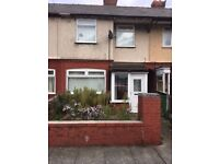 Three bedroom mid Terrace Property on Muspratt Road, just off Seaforth Road Bootle L21.