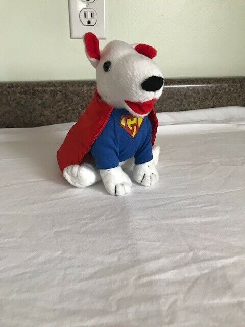target bull terrier super dog 6 1/2 inches tall, new