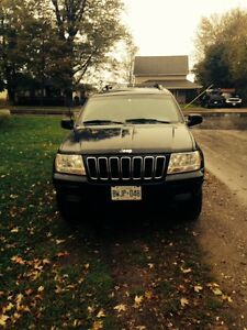 2003 Jeep Grand Cherokee Black SUV, Crossover