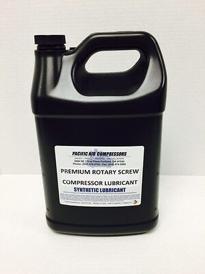 144046-005 Quincy 8000 Hour 1 Gallon Synthetic Rotary Air Compressor Oil