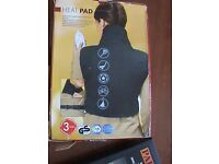 Woman pain relief body warmer