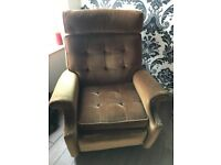 Beautiful Vintage Parker Knoll Recliner Chair