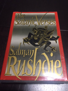 The Satanic Verses By Salmon Rushdie Book Hardcover