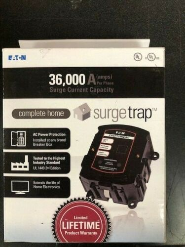 NEW Eaton Model CHSPT2MICRO Complete Home Surge Trap 36,000 Amp Capacity