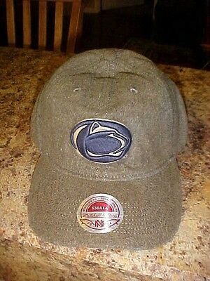 Penn Distressed Hat - Penn State Mitchell & Ness Distressed Hat/Cap New w/ Tags Adult S Free Ship Grey