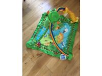 Baby Gym Play Mat - Jungle Theme