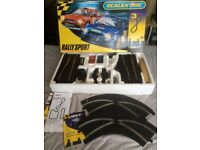 SCALEXTRIC SET - RALLY SPORT - NEW TYPE TRACK