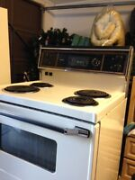 Stove Almond older working Free You Pick Up