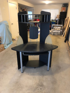 Desk, Chair, TV Stand
