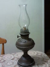 Very Rare Antique 1895 Brass Rayo oil lamp complete in VGC Randwick Eastern Suburbs Preview