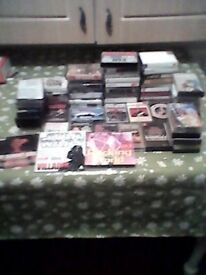 Lots of Audio Tape Cassettes, few CDs FREE. Llangennech