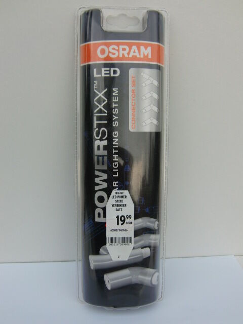 "OSRAM LED Power-Stixx Erweiterungsset "" CONNECTOR SET "" - 4-teilig -  NEU & OVP"