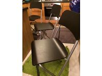 3 Bar high chairs