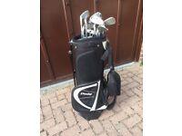 Dunlop Steel Shaft Golf Clubs and bag