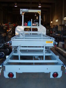 HAWKMILL BANDSAWMILL , TRAILER MODEL/ HYDRAULIC PACKAGE/24 HP Prince George British Columbia image 5